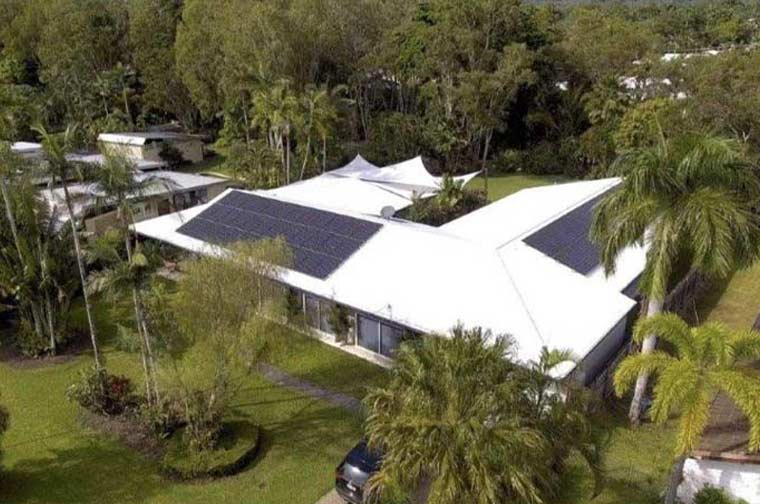 Cairns home with Solar System